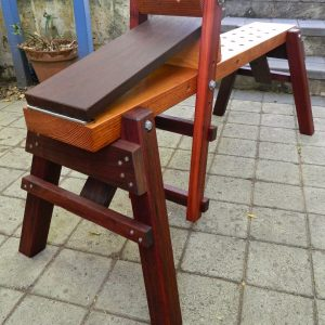 Plans for the Mk III Combination Shaving Horse and Bowl Carving Bench.