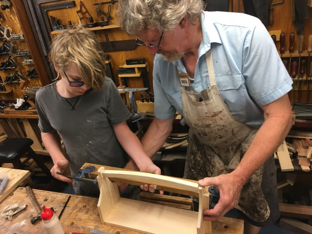 Private Tuition at the Heritage Woodcraft Centre.