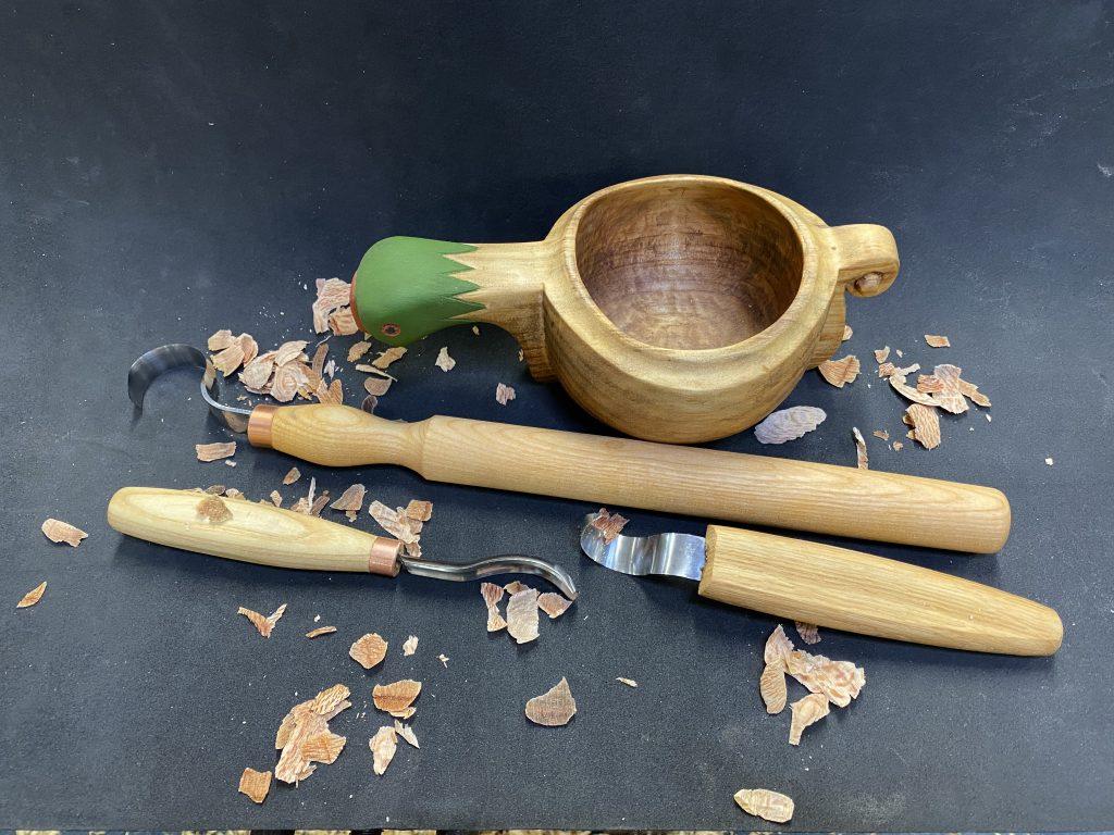 Kuksa hollowing tools